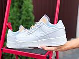 Женские кроссовки Nike Air Force белые, фото 3