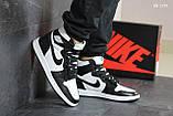 Мужские кроссовки Nike Air Jordan 1 Retro High OG (черно/белые), фото 4