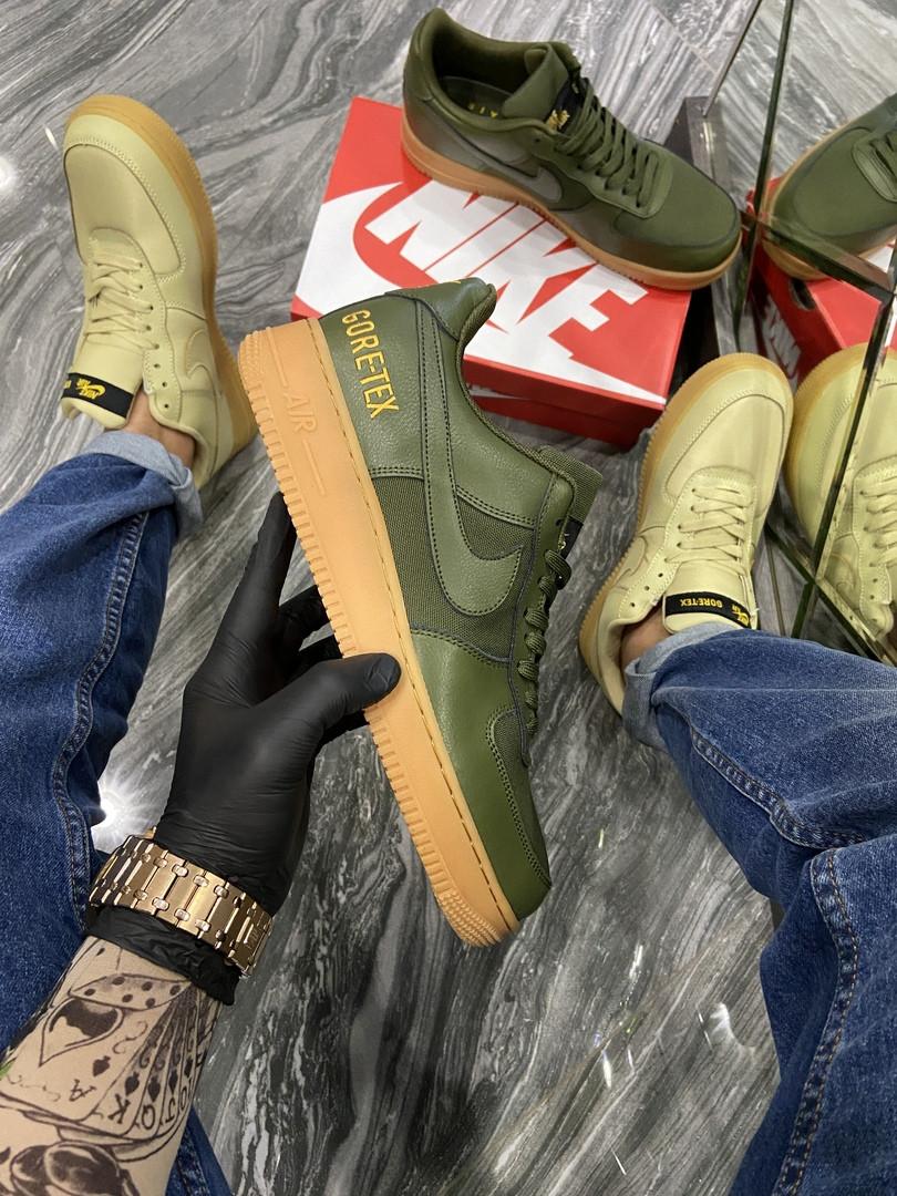 Чоловічі кросівки Nike Air Force Low GORE-TEX Haki