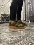 Чоловічі кросівки Nike Air Force Low GORE-TEX Haki, фото 2
