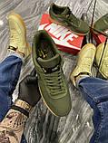 Чоловічі кросівки Nike Air Force Low GORE-TEX Haki, фото 5