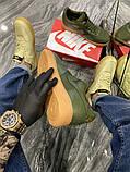 Чоловічі кросівки Nike Air Force Low GORE-TEX Haki, фото 6