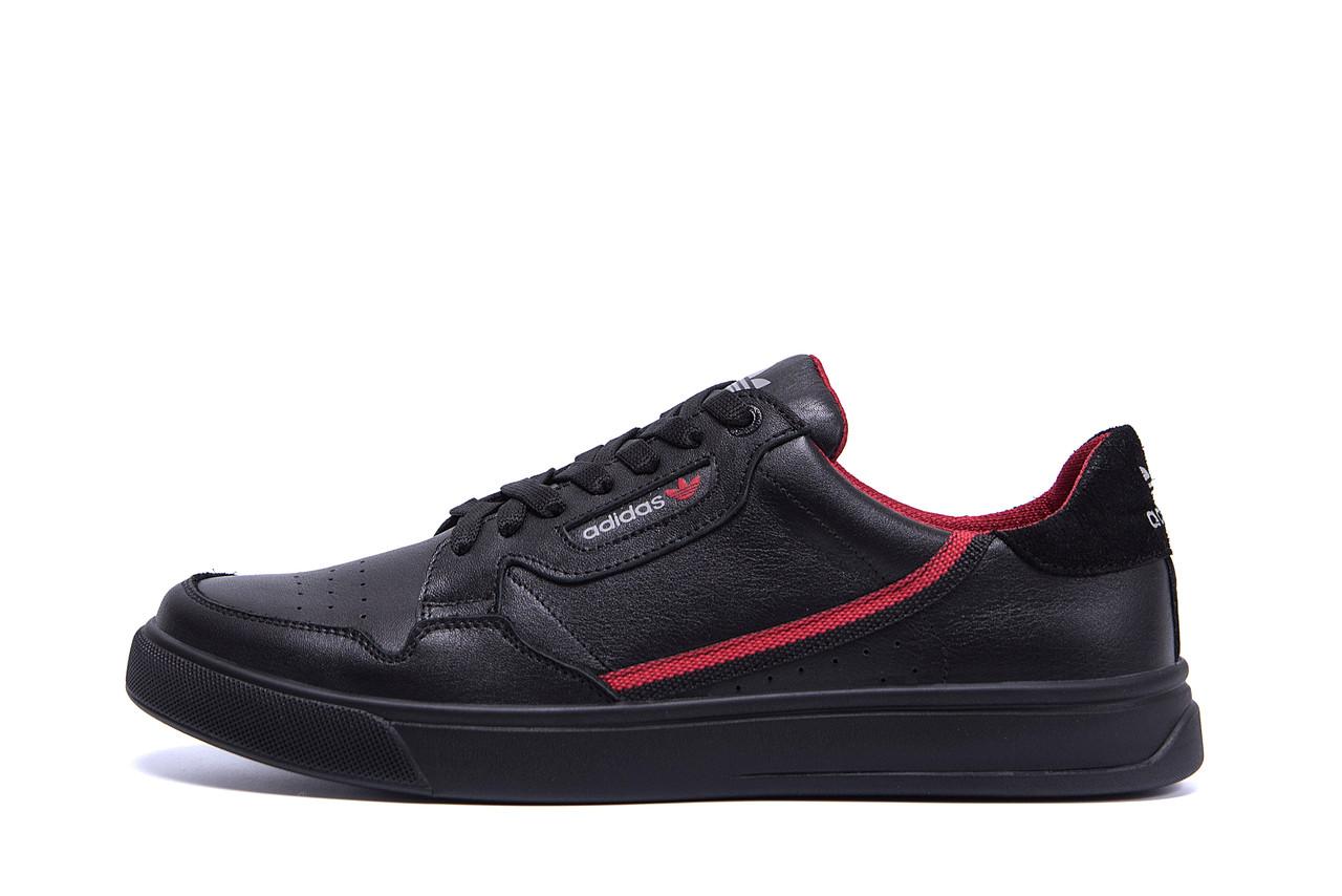 Чоловічі шкіряні кеди Adidas Stan Smith Black