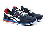 Чоловічі шкіряні кросівки Anser Reebok NS blue ., фото 2