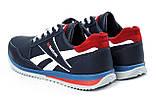 Чоловічі шкіряні кросівки Anser Reebok NS blue ., фото 5