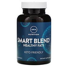 "Комплекс жирных кислот Омега-3, КЛК и ГЛК, MRM, Nutrition ""Smart Blend Healthy Fats"" (120 гелевых капсул)"