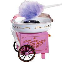 Аппарат для сладкой ваты Candy Maker на колёсах, машинка для приготовления конфет и сладкой ваты! Акция