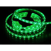 Светодиодная LED лента 5050 Green, зеленый дюралайт! Акция