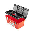 Ящик для инструментов с металлическими замками INTERTOOL BX-0518, фото 4