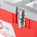 Ящик для инструментов с металлическими замками INTERTOOL BX-0518, фото 6