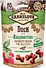 7199 Carnilove Cat Crunchy Snack с уткой и малиной, 50 гр