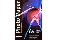 Фотобумага глянцевая Tecno Photo Paper Superior Luster A4 (20 листов / 260 г/м2)