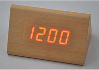 Настольные часы с красной подсветкой VST-864-1