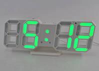 Настольные часы с зеленой подсветкой CX-2218