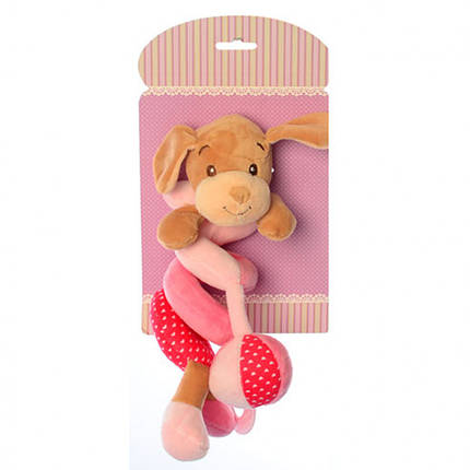 Подвеска X16403 на кроватку (Собачка розовая X16403D(Pink)), фото 2