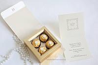 Коробка Ferrero Rocher айворі, фото 1
