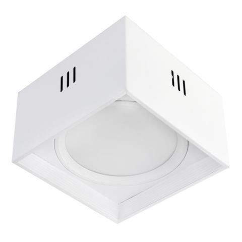 """Светильник  накладной квадрат. """"SANDRA-SQ15/XL"""" 15W 4200K белый"""
