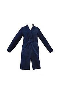 Мужской халат miomare средней длины XL (56/58) Темно-синий (K12-550009)