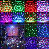 Светодиодный диско шар Led Party Light с пультом, фото 3