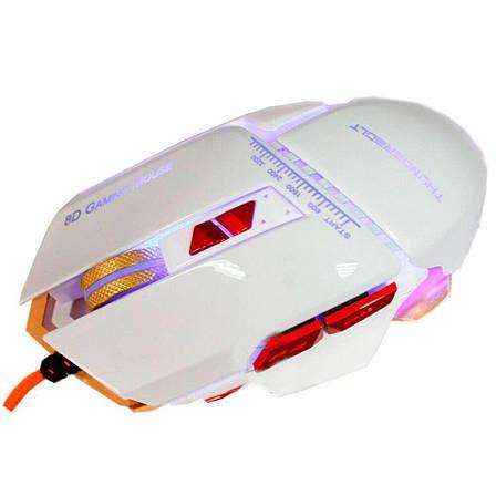 Миша дротова Zornwee GX10 ігрова з підсвічуванням, фото 2