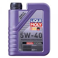 Синтетическое моторное масло - Diesel Synthoil SAE 5W-40   1 л.