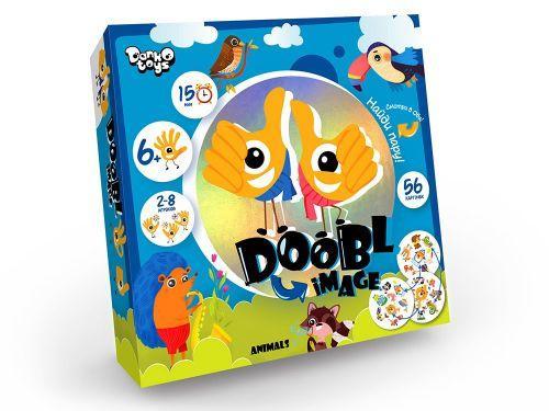 """Настольная игра """"Doobl image: Animals"""" рус DBI-01-03"""