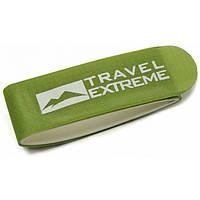 Стяжка для горных лыж 110мм Travel Extreme зеленая
