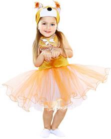 Белочка. Комплект - платье, головной убор (84102)