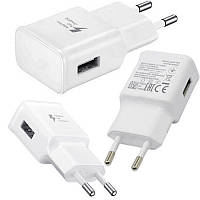 Сетевое зарядное устройство C-KU EP-TA20EWE 2A Адаптер USB Fast Charge белый