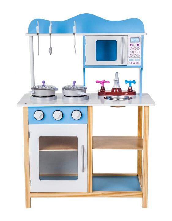 Детская деревянная кухня Kasper Blue Польша