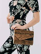 Сумка женская Amberwood Ukrainian beauty темный орех SKL61-261269