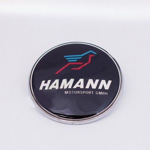 Эмблема BMW Hamann c цвет лого 72 мм