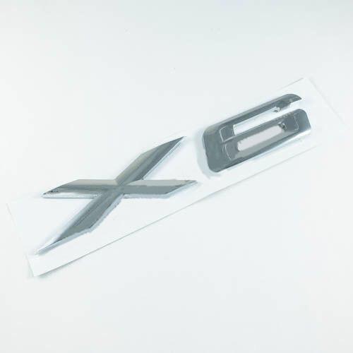 Эмблема надпись X6