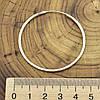 Серебряные серьги кольца размер 45х2 мм вес 4 г, фото 2