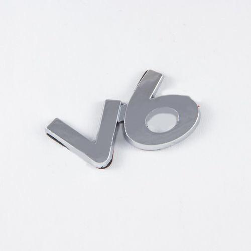 Эмблема шильдик V6 #3