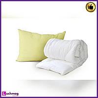 Одеяло детское Luxbaby Classic белое 100х100cм + подушка 40х60 см в подарок