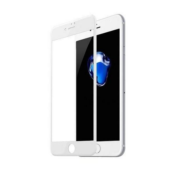 Захисне скло Apple iPhone 7/iPhone 8 Anti-Break Edge 0.23mm (біле) Baseus