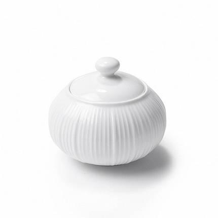 Сахарница Fissman Elegance White SB-9352-250 250 мл, фото 2