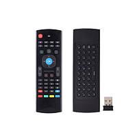 Беспроводная клавиатура, мини пульт (аэро-мышь) для Smart TV, AIR MOUSE MX3, хорошая цена