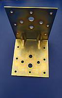 Уголок крепёжный с ребром жесткости 100х100х90х2