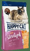 Happy Cat Supreme Sterilised Atlantik-Lachs 10кг для стерилізованих кішок з лососем