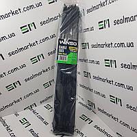 Хомуты пластиковые 4,8х400 черные (100 шт)