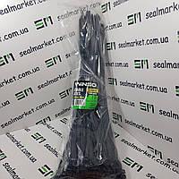 Хомуты пластиковые 7,6х450 черные (100 шт)