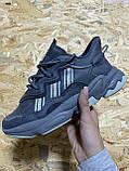 🔥 Кроссовки женские Adidas Ozweego Grey (адидас озвиго серые), фото 2