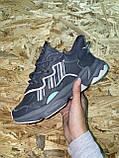 🔥 Кроссовки женские Adidas Ozweego Grey (адидас озвиго серые), фото 3