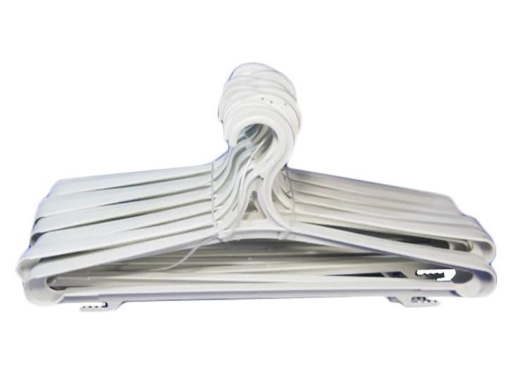 Плечики  вешалки для верхней одежды белые