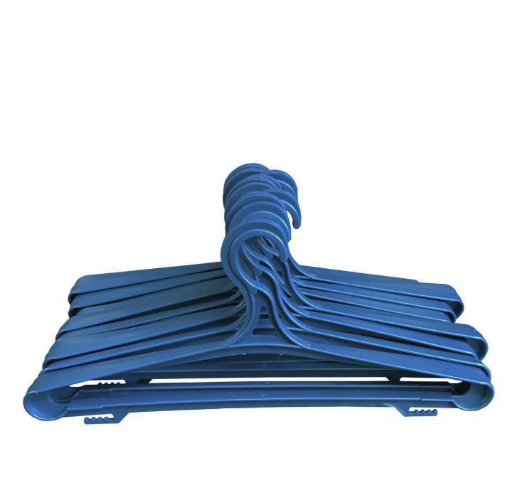 Плечики вешалки для верхней одежды синие