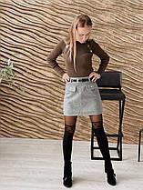 Женская юбка из кашемира.Новинка 2020