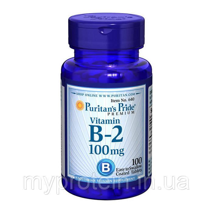Puritan's Pride  Витамины и минералы  Vitamin B-2 100 mg100 tab
