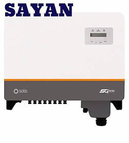 Сетевой солнечный трехфазный инвертор Solis 30K 5G 30 кВт 3 MPPT для домашней электростанции